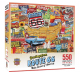Greetings From Route 66 550 piece jigsaw puzzle (+poster!) 610mm x 460mm  (mpc)